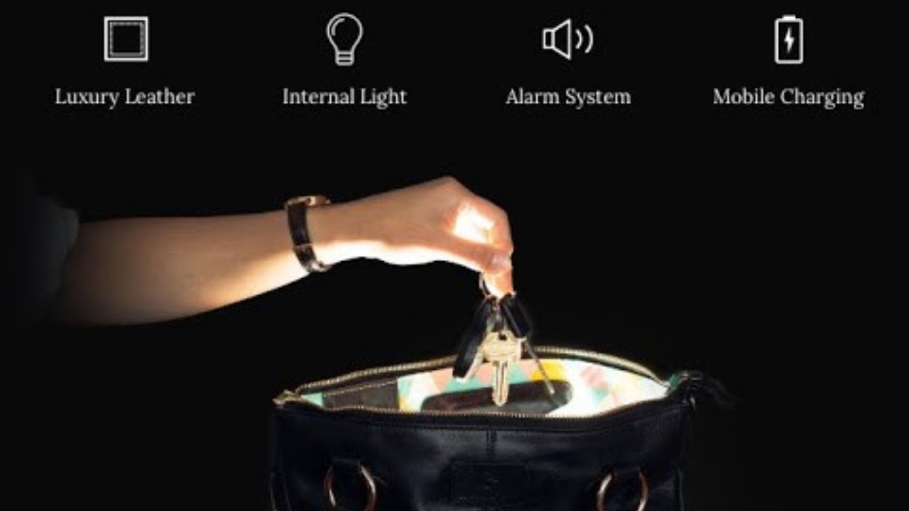 Download NALPHI — Light-Up Luxury Tote Bag   Indiegogo