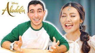 "Real Disney Fan Reacts to ""Speechless"" (Gamwichayanee Cover แก้ม วิชญาณี) | Disney Aladdin 2019"