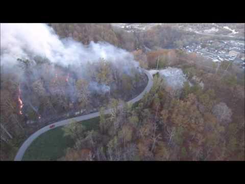 November 2016 Forest Fire  -- Jackson, Ky