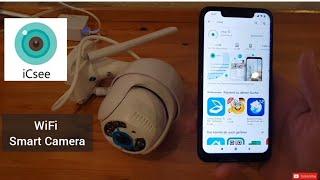 iCSee App WiFi Smart Camera Setup screenshot 3