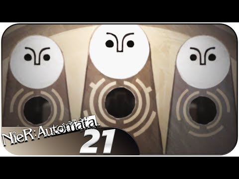 NieR: Automata (PS4, Let's Play, Blind) | The Meaning of Life | Part 21