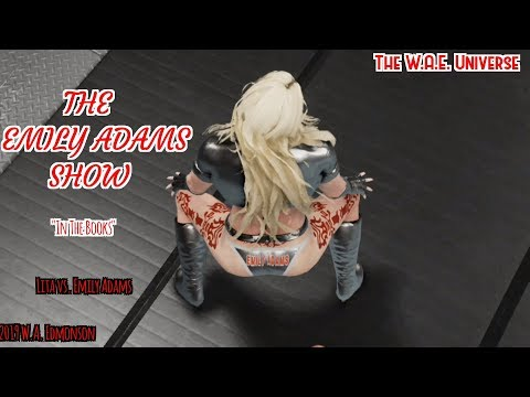 WWE 2K20 W.D.: The Emily Adams Show ( Webisode 142: In The Books ) Xbox One