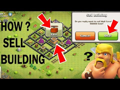 (Hindi) Sell Building Hidden Secret of clash of clans