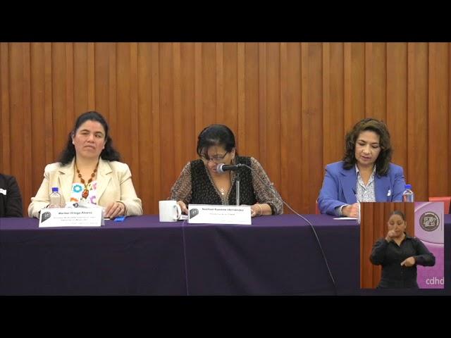Discurso de la Presidenta de la CDHDF, Nashieli Ramírez