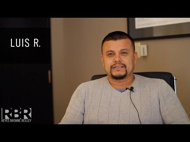 Luis R - Recomendación de Cliente para Abogado de Accidente Angel Reyes