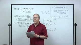 Great Ways To Study | LBCC Study Skills
