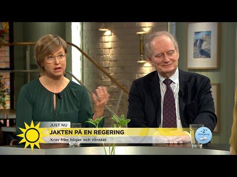 """Anders Björck om Stefan Löfven: """"Jag tror inte han visste vad han gjorde""""  - Nyhetsmorgon (TV4)"""