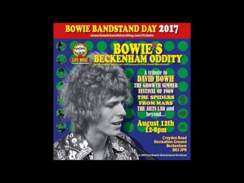 Bowie's Beckenham Oddity 2017. The David Bowie bandstand festival