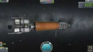 Kerbal Space Program - Beating First Contract in 2 Missions - Part 2