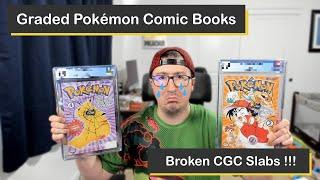 Vintage Pokémon Comics Graded with CGC and Returned Damaged