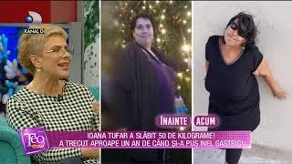 Teo Show (17.09.2018) - Cum a slabit Ioana Tufar 50 de kilograme Partea 6