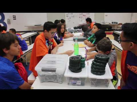 Summer Robotics Workshop 2017: Joe Walker Middle School