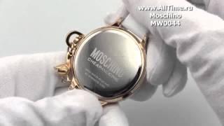видео Часы Moschino