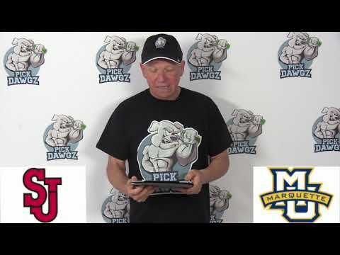 Marquette vs St Johns 1/21/20 Free College Basketball Pick and Prediction CBB Betting Tips
