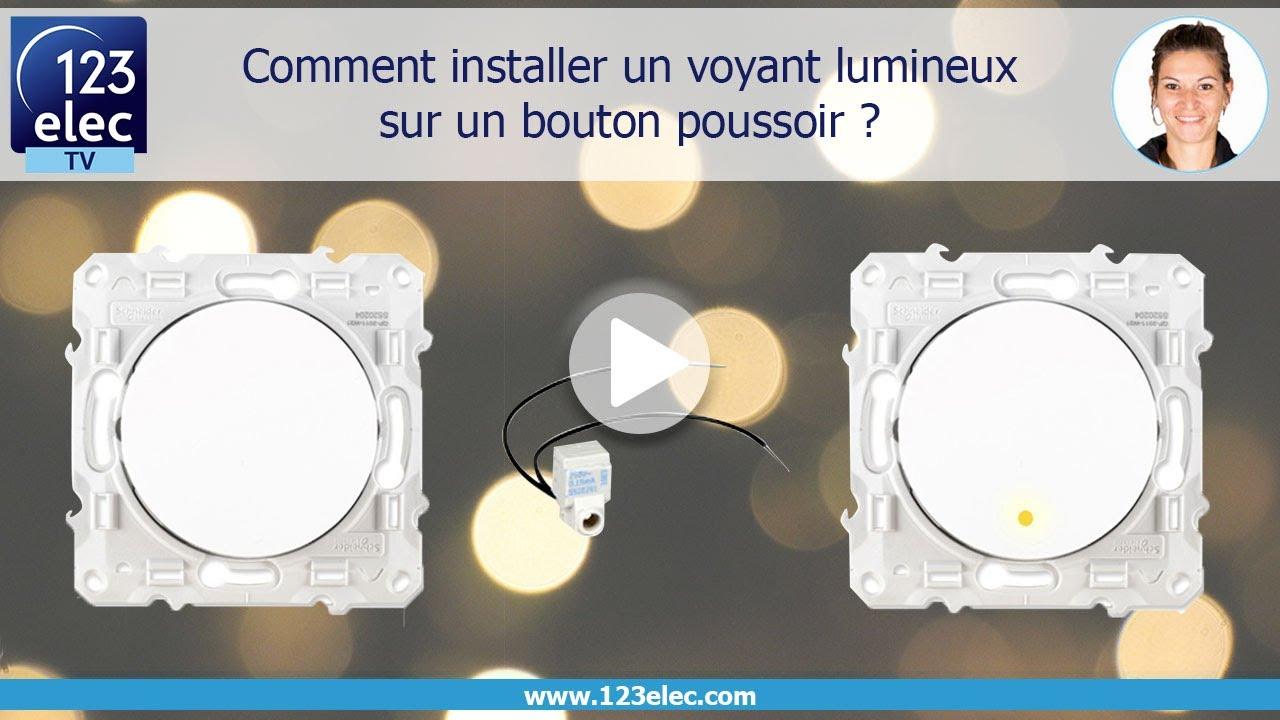 Comment Installer Un Voyant Lumineux Sur Un Interrupteur Youtube