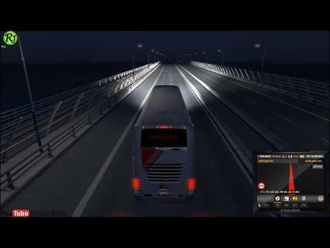 Euro Truck Simulator 2 Sakura Bus Download || ETS 2 Game Play || RJ Solution ||