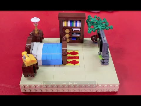 how to make a simple lego sofa james younger build furniture for your minifigures youtube