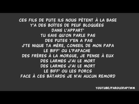 Lacrim - sablier (RIPRO) paroles/lyrics
