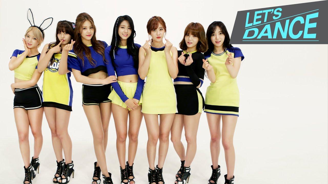 Bangle Girl Wallpaper Let S Dance Aoa 에이오에이 Heart Attack 심쿵해 Eng Jpn Chn