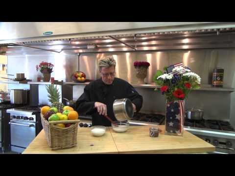 How to Make Chocolate Sauce with Chef Eric Crowley