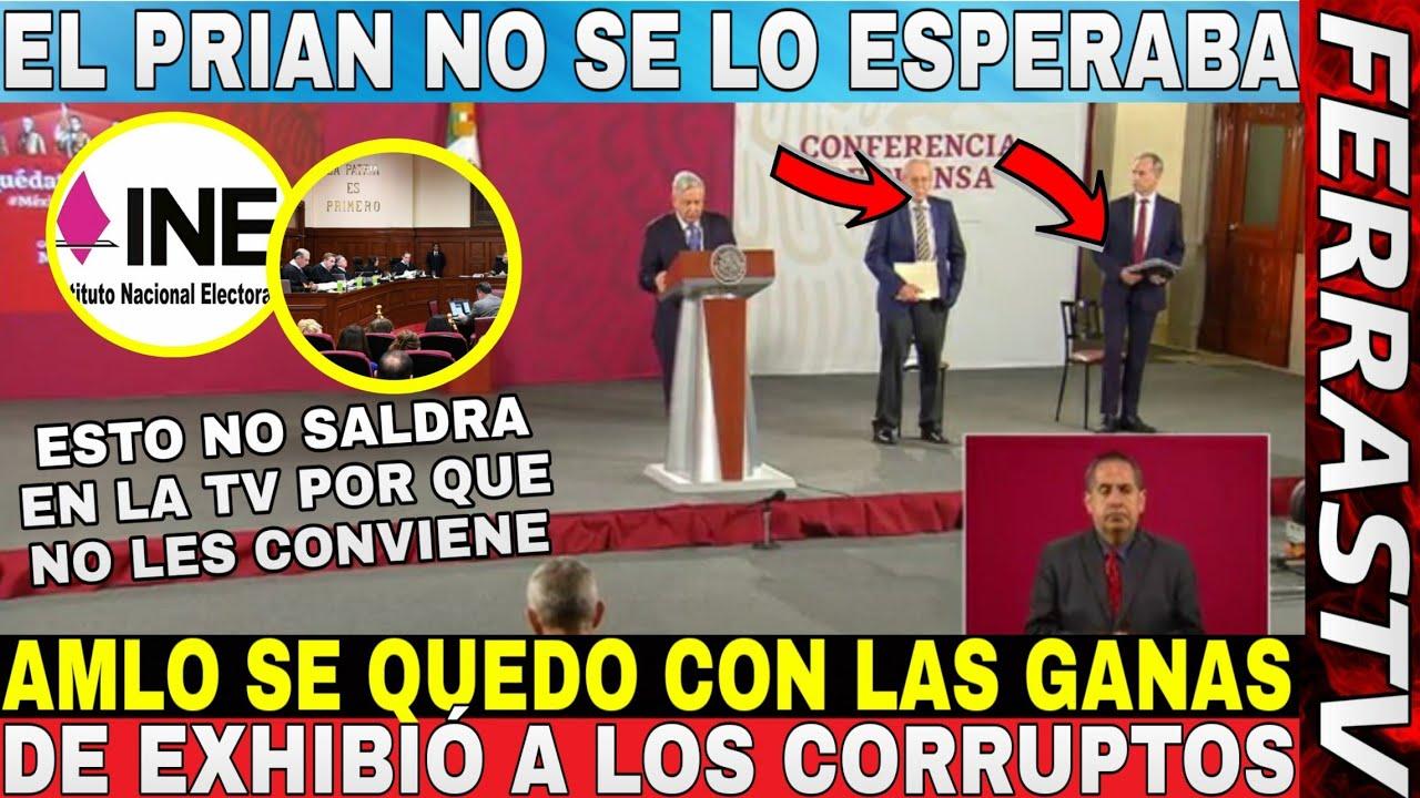 Hace Unos Momentos ¡¡AMLO DEFIENDE AL MÉXICO COMO UN TIGRE!! Revela Las Tranzas De Lorenzo Córdoba