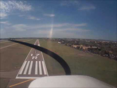 Cessna 150 Traffic Pattern Practice at Centennial Airport Colorado