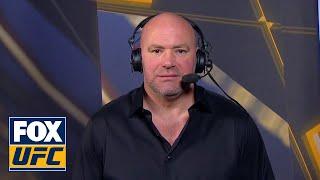 Dana White speaks after Ultimate Fighter Finale | INTERVIEW | TUF FINALE