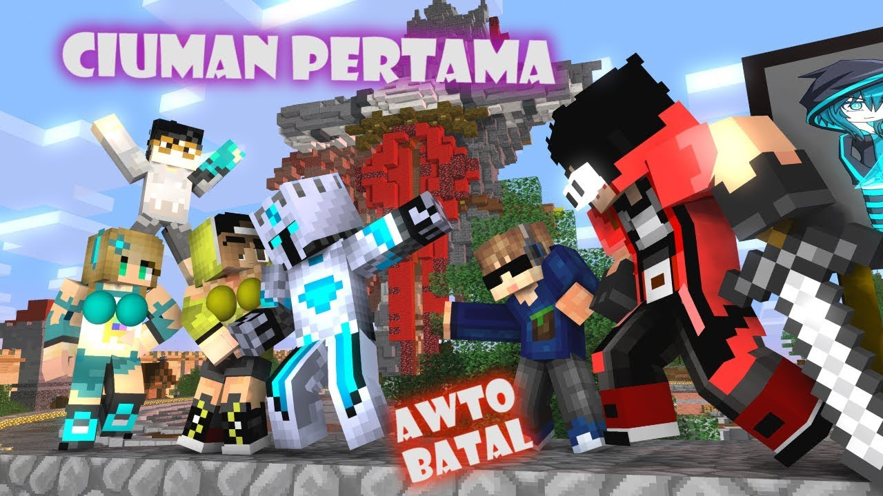 Download Kartun Kocak!! Bocil di cium 4 Systers AWTO MODAR - Minecraft Animation indonesia