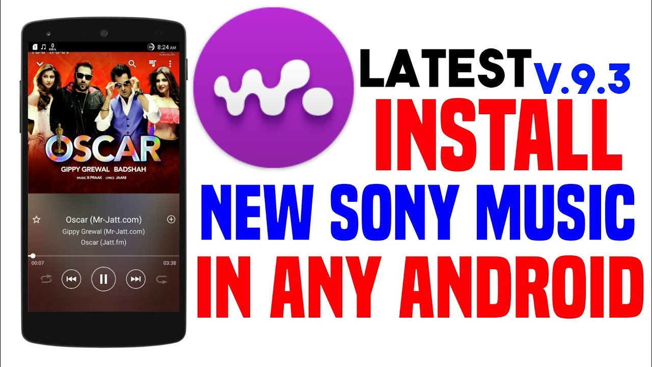 Latest Sony Xperia Music Player Install In Any Android 2018