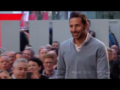 Claudio Pizarro im Audi Star Talk - Highlights