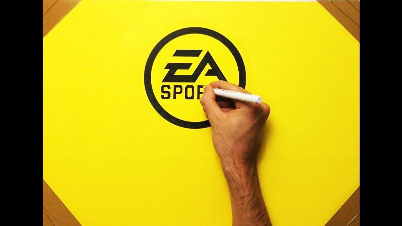 How to draw ea sports fifa 17 logo speed drawing youtube how to draw ea sports fifa 17 logo speed drawing biocorpaavc