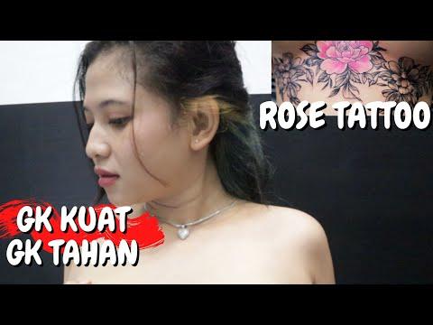 Bikin Gemes Bulet Banget / Best Flower Tattoo Under Chest