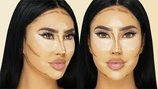 HOW TO HIGHLIGHT & CONTOUR FOR BEGINNERS | BRITTANYBEARMAKEUP