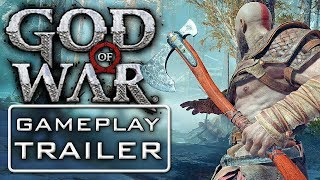 Best Game Trailers: GOD OF WAR 4 NEW Battle Gameplay Trailer PS4 2018