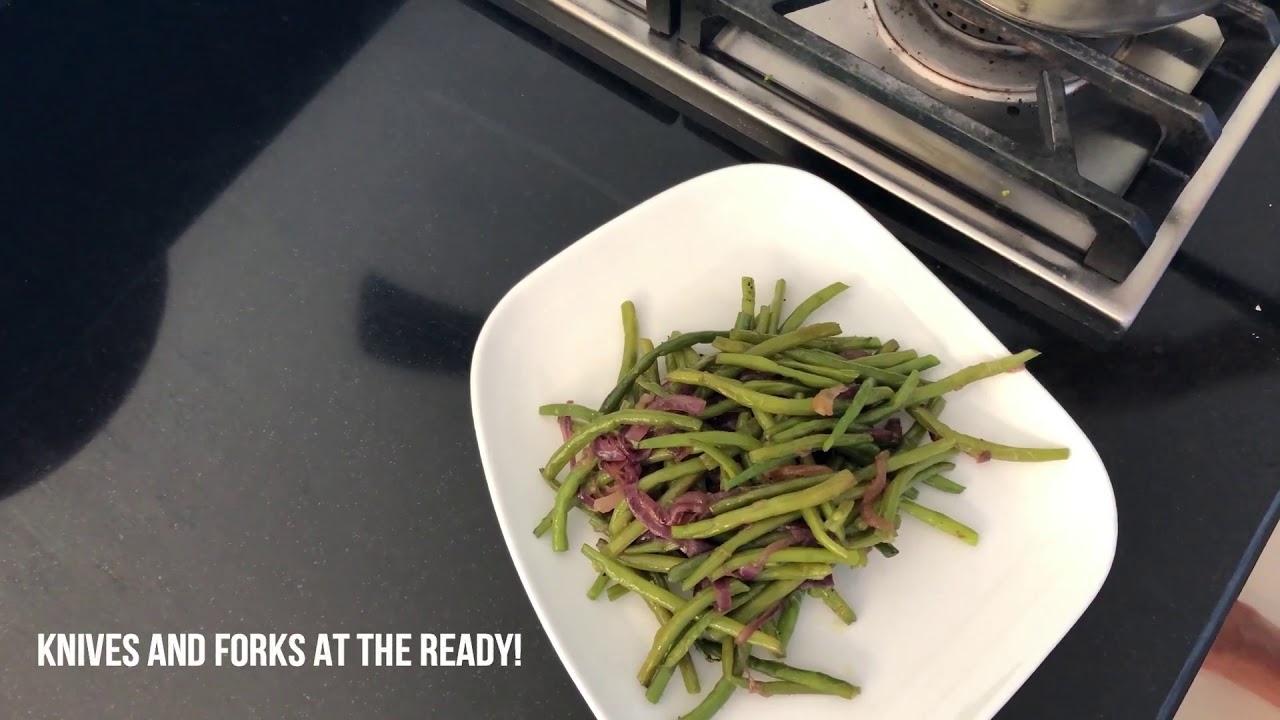 Clean Food For Clean People: Mr Green Bean