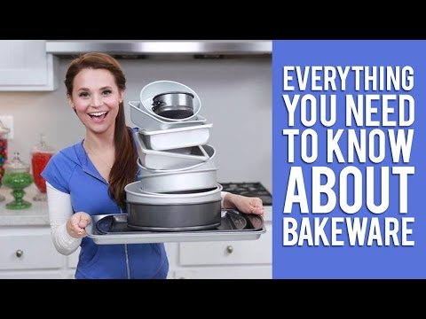 Download How To Choose Your Bakeware | Everything You Need To Know From Rosanna Pansino Snapshots