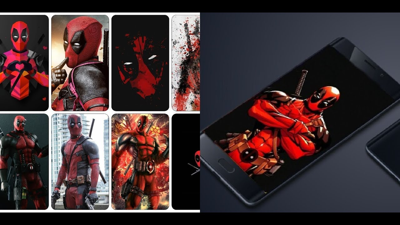 Deadpool From Marvel Comics Full Hd Wallpapers For Your Mobile