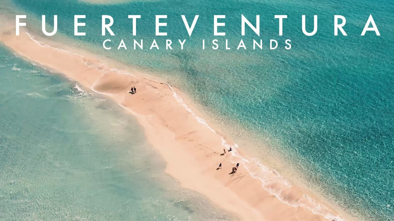 Beautiful Fuerteventura - Canary Islands - AERIAL DRONE 4K VIDEO