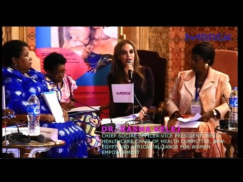 Merck More Than A Mother Campaign - Pan African Launch  -  Dr. Rasha Kelej, CEO Merck Foundation