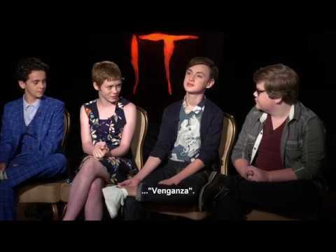 IT (ESO) - Entrevista Jaeden, Jeremy, Jack, Sophia - Oficial Warner Bros. Pictures