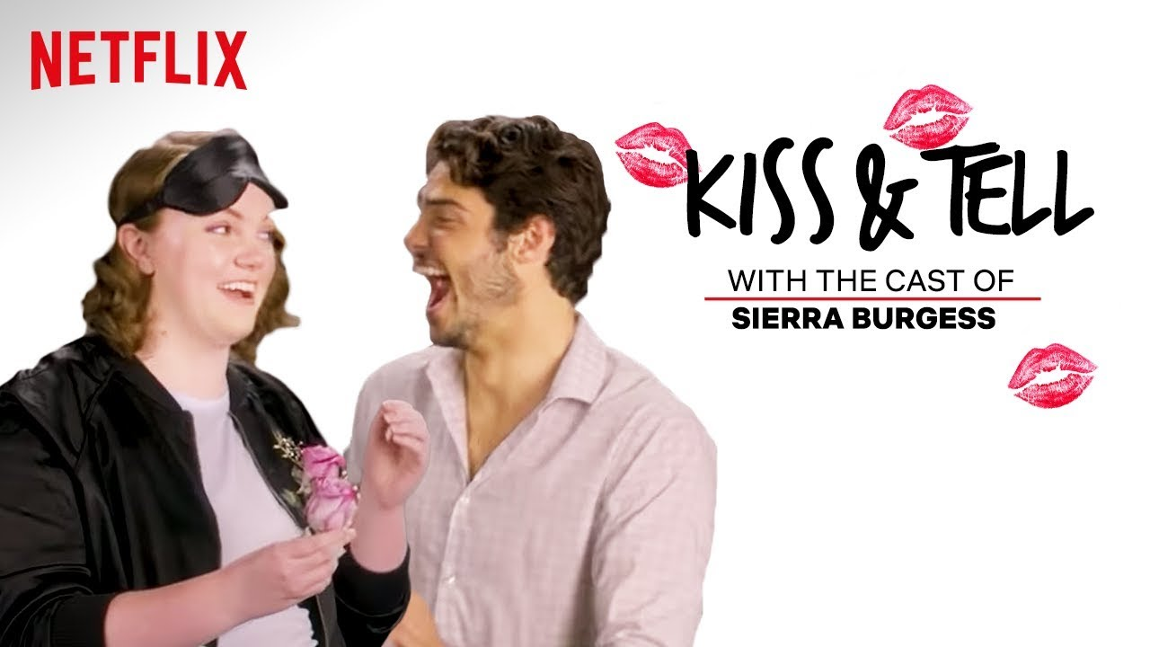 sierra-burgess-is-a-loser-cast-kiss-spaghetti-other-weird-stuff-kiss-tell-netflix