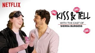 Sierra Burgess Is A Loser Cast Kiss Spaghetti & Other Weird Stuff | Kiss & Tell | Netflix