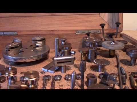 Boley Watchmakers Lathe Unboxing