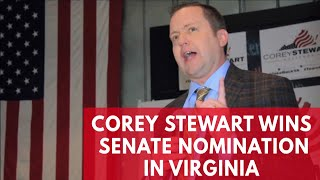 Corey Stewart Wins Republican Senate Nomination In Virginia