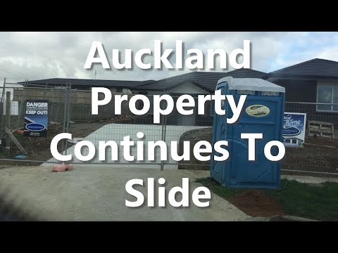 Auckland Property Continues To Slide