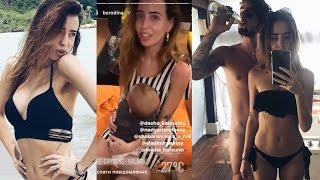 Надя Дорофеева в Instagram Stories ( Отдых в Самуи , Тайланд  )