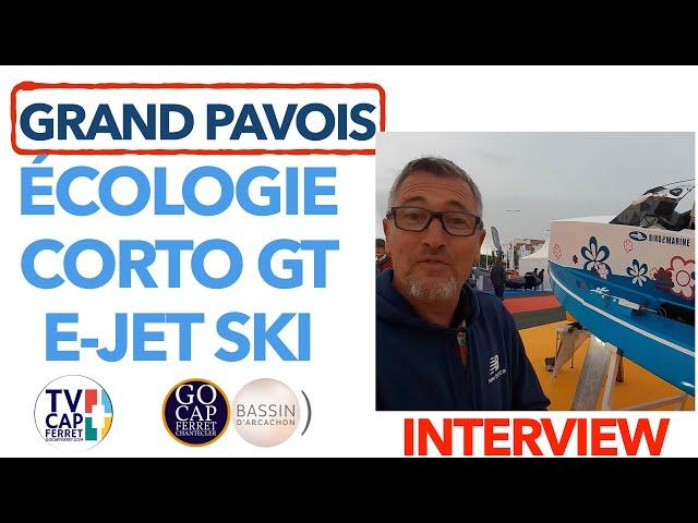 Grand Pavois La Rochelle 2021 #5 Interview Franck Créateur du CORTO GT le Jet Ski Foil électrique
