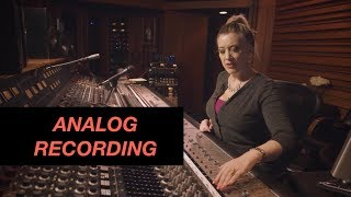 Analog Recording workflow - Sylvia Massy