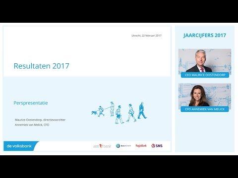 Jaarcijfers 2017 - Webcast pers