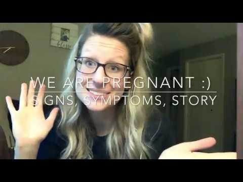 Pregnancy Announcement! Signs and Symptoms | One Month Pregnant